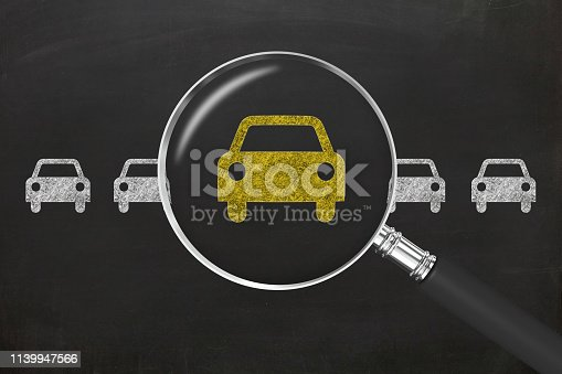 istock Car choice search review 1139947566