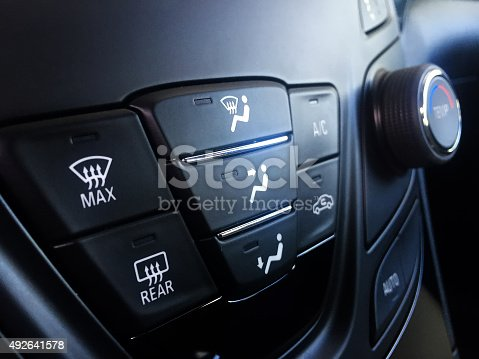 istock Car Climate System 492641578