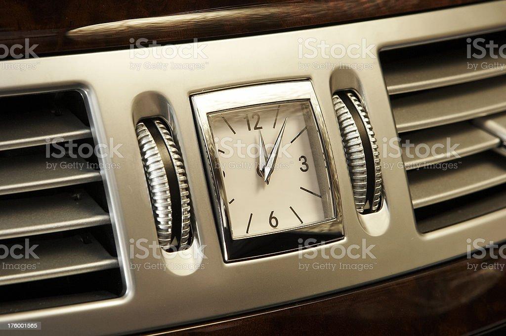 Car Clock stock photo
