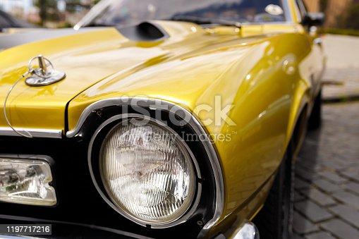 Car close up detail.