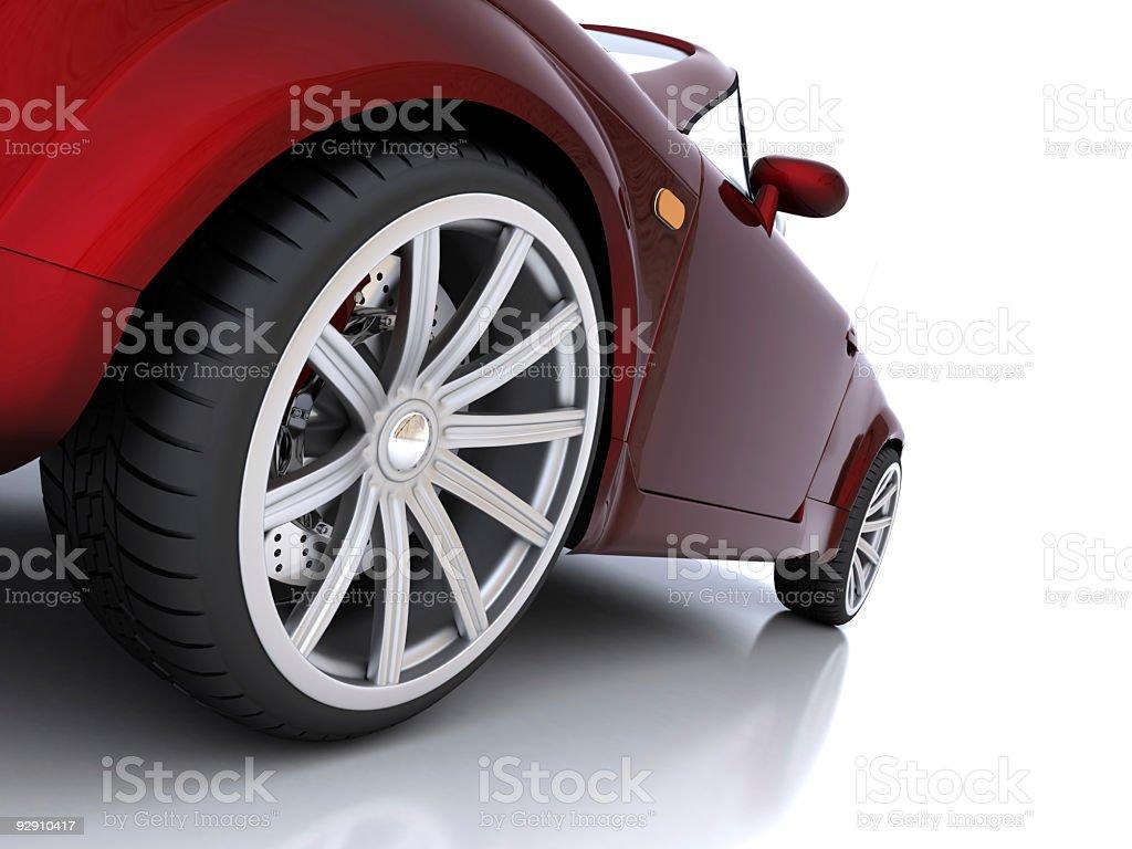 Car closeup royalty-free stock photo