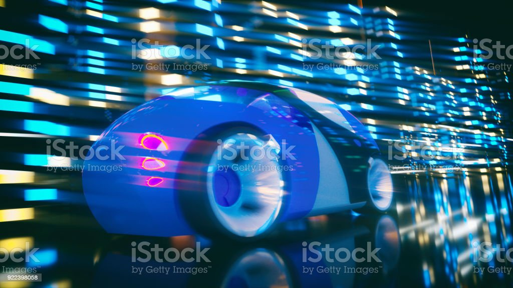 Car concept - 3D Illustration royalty-free stock photo