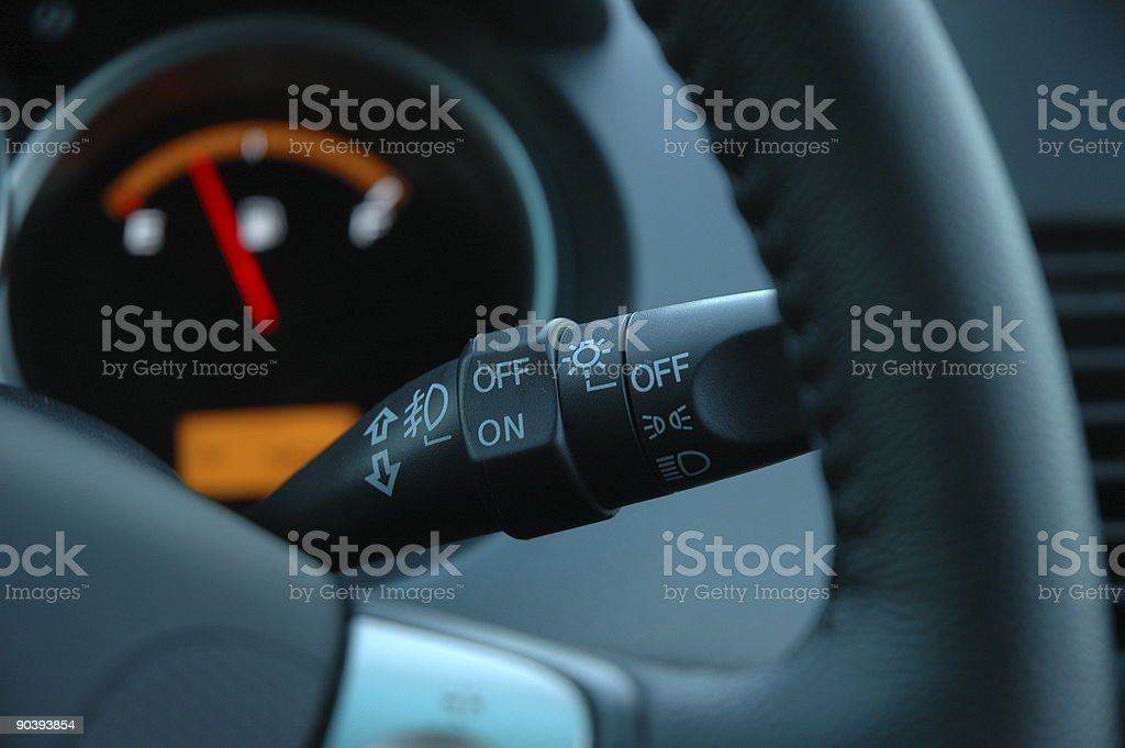 Car Control stock photo