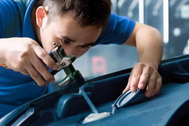 car coolant - brake service stock photos and pictures