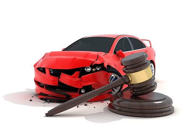 Autounfall und Gesetz – Foto