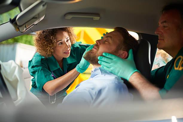 Autounfall sanitäter – Foto