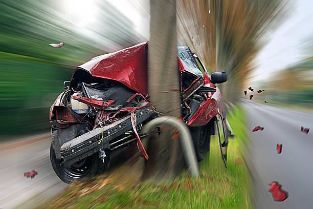 car crash - krockad bil bildbanksfoton och bilder