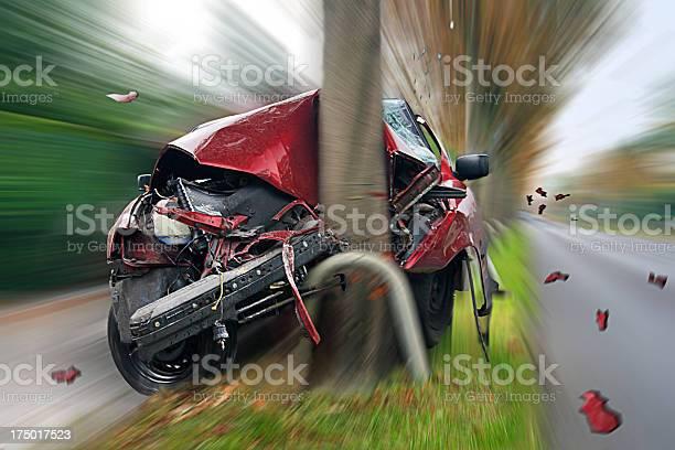 Car Crash Stock Photo - Download Image Now