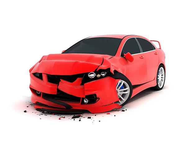 Accidente de tráfico - foto de stock