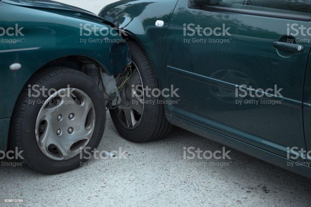 Autounfall – Foto