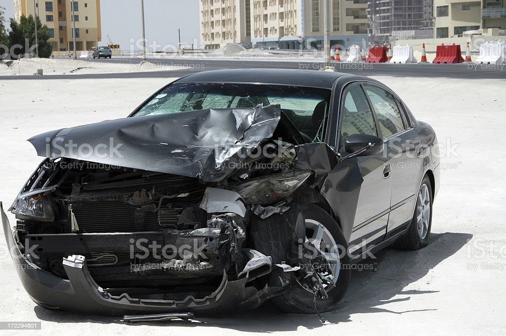 Car Crash V royalty-free stock photo