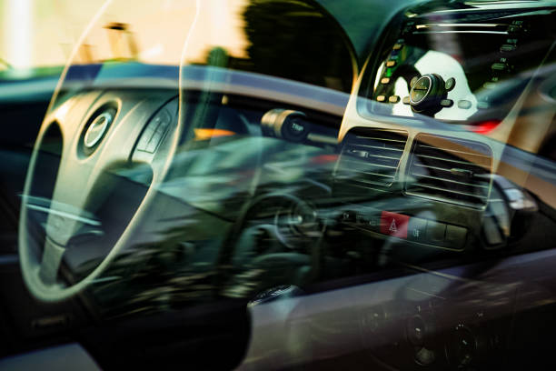 car dashboard - dashboard vehicle part stock photos and pictures
