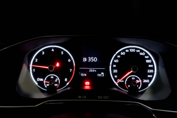 car dashboard - land vehicle stock photos and pictures