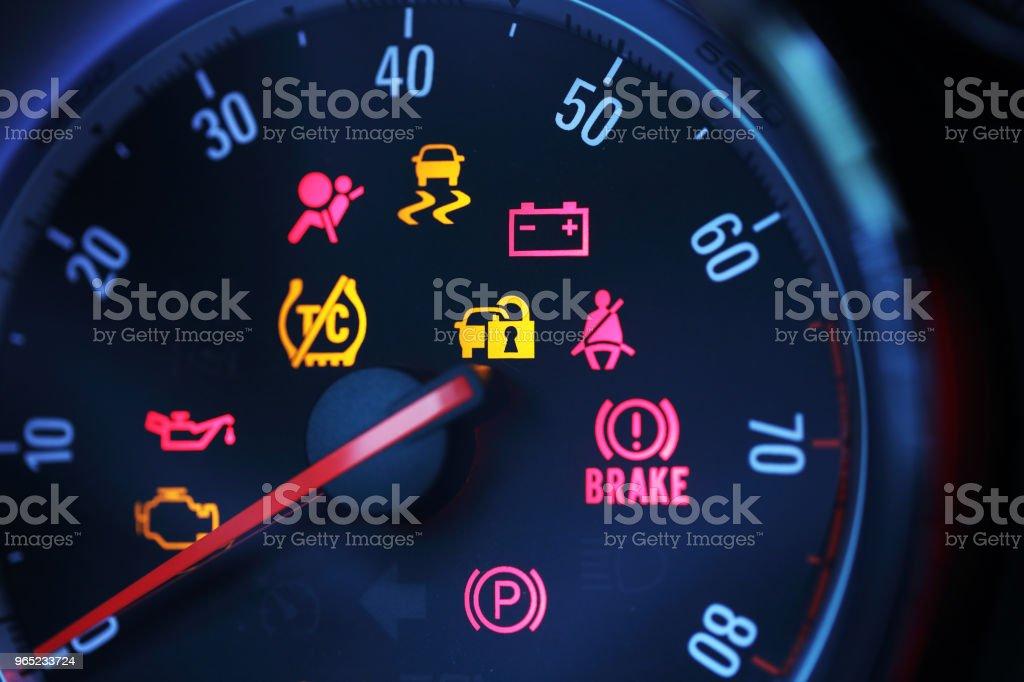 Car Dashboard royalty-free stock photo