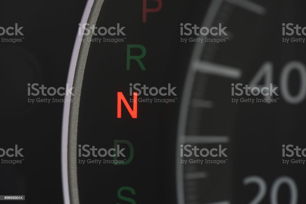 Car Dashboard With N Sign Stock Photo IStock - Car sign on dashboard