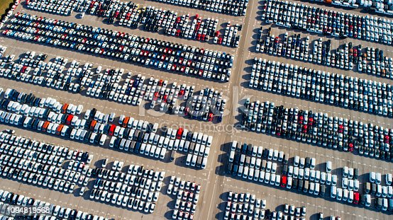 istock Car depotfrom above 1094819568