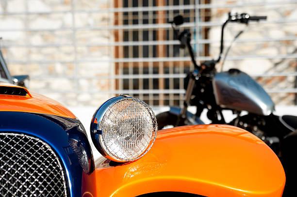 Auto detail und Motorräder – Foto