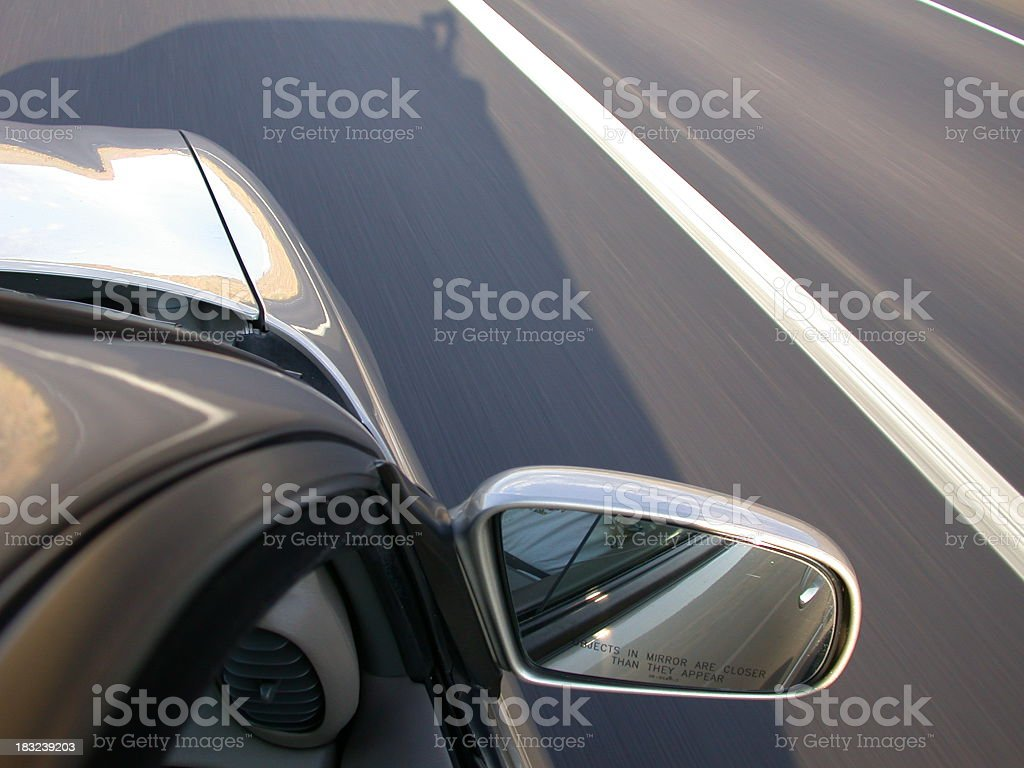 Car Detail - In Motion royalty-free stock photo