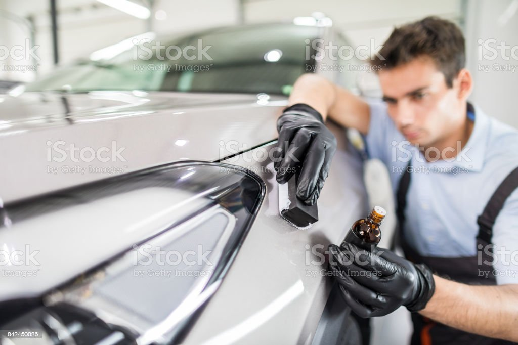 Car Detailing Concept Auto Cleaning And Polish Stock Photo Download Image Now Istock