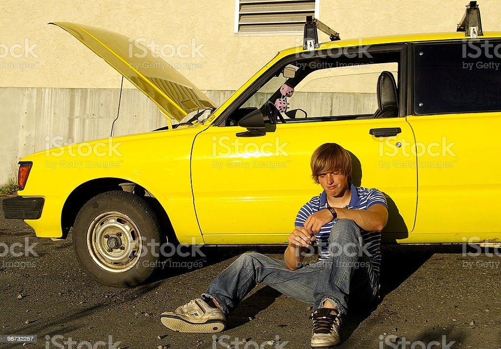 Car Doesn't Work 免版稅 stock photo