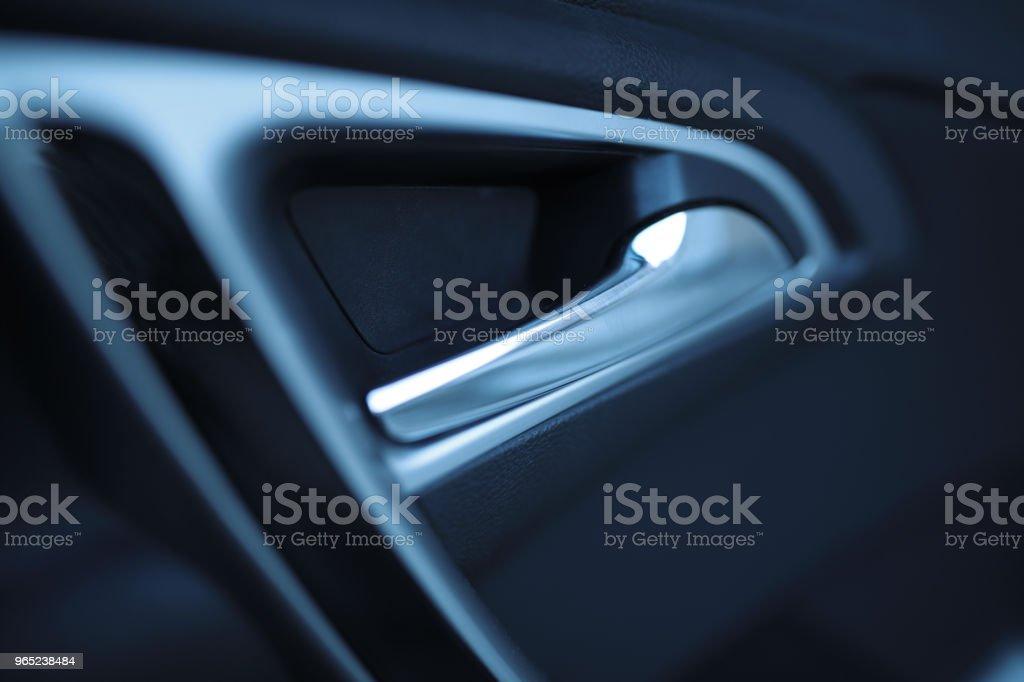 Car door inside the car zbiór zdjęć royalty-free