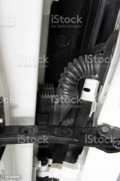 Car Door Wire Harness Grommet Stock Photo - Download Image Now - iStockiStock