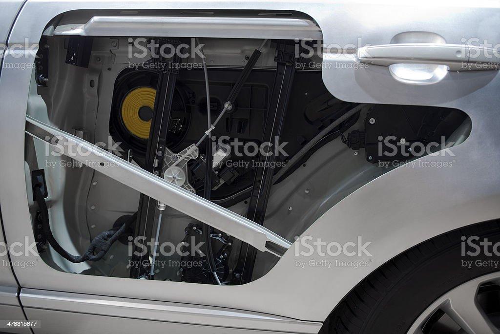 Car doors royalty-free stock photo