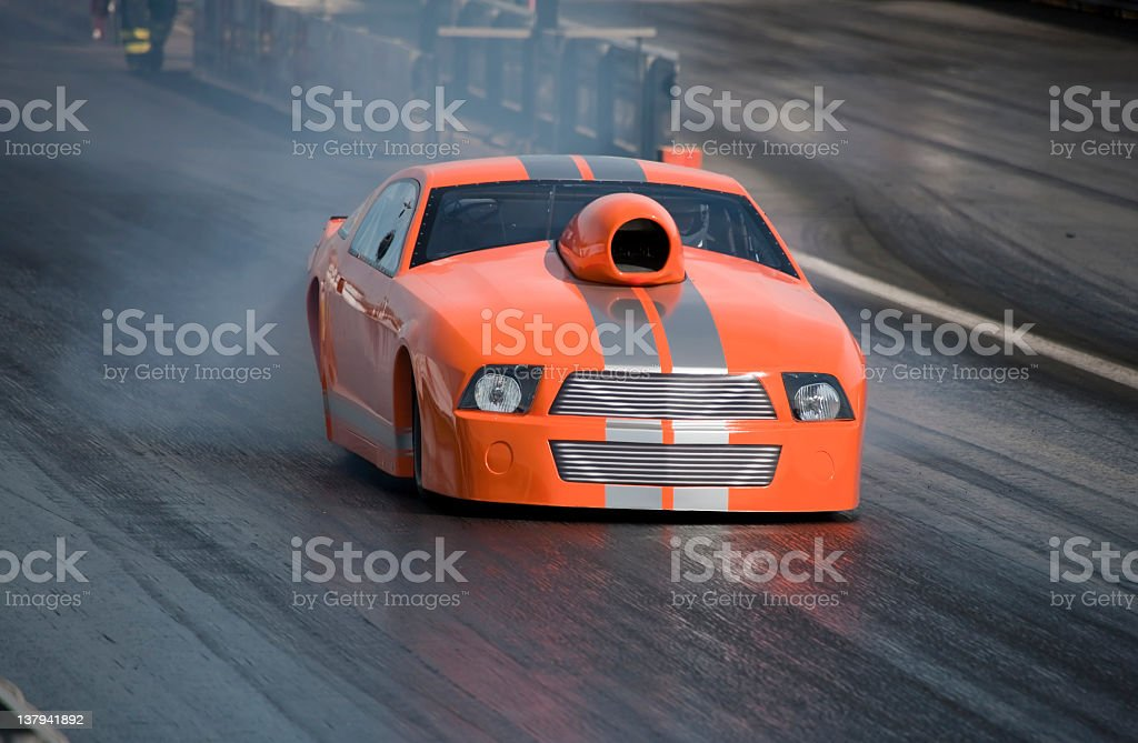 Car - Dragster stock photo