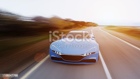 918555756 istock photo car driving on a road 1158547768