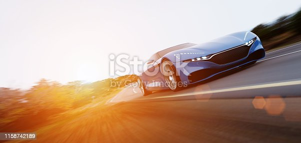 918555756 istock photo car driving on a road 1158742189