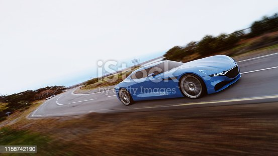 918555756 istock photo car driving on a road 1158742190