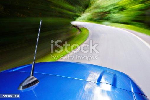 istock Car driving 452352223