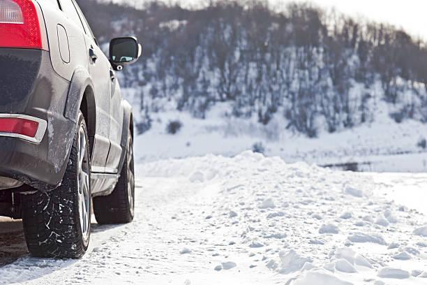 Snow drive – Foto