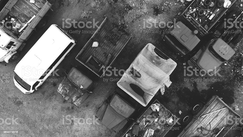 Car Dump - Royalty-free Above Stock Photo