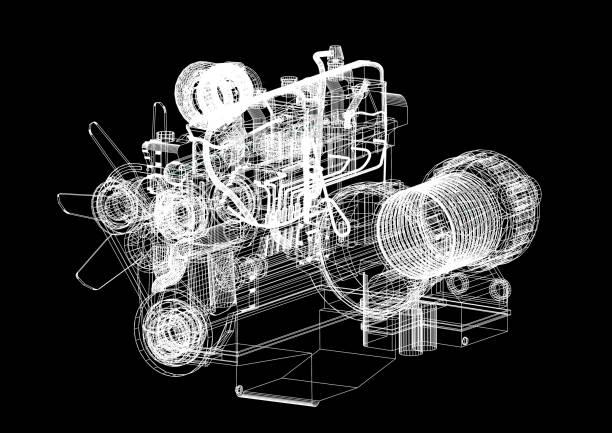 Motor Blaulicht – Foto