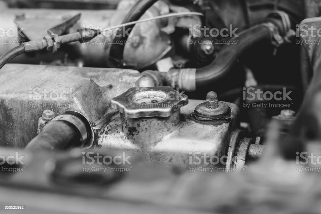 Car Engine Closeup Stock Photo Download Image Now Istock