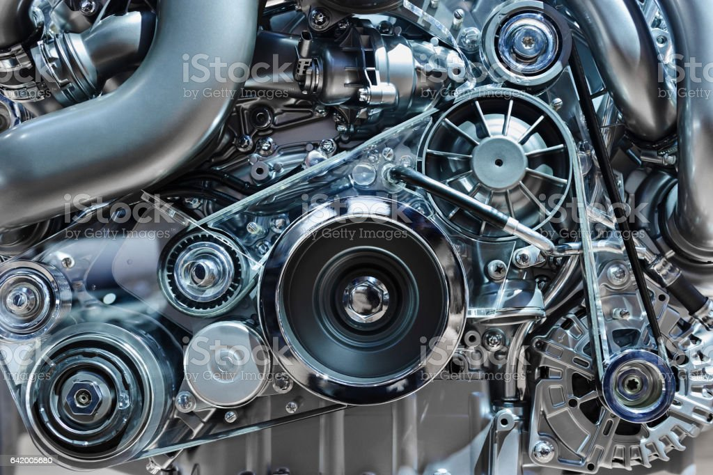 Auto-motor-Konzept – Foto