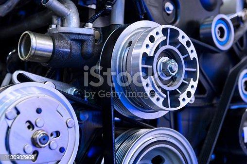 istock Car engine detail 1130982969