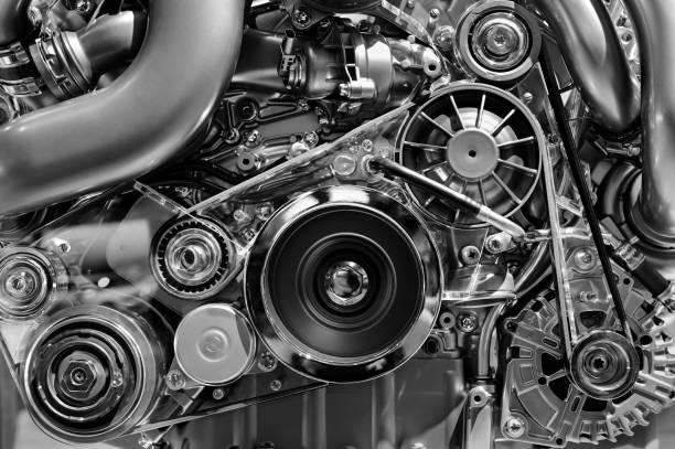 汽車發動機詳細資訊 - 電子摩打 個照片及圖片檔