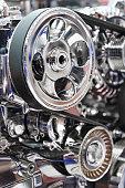 istock Car engine, detail 979497404