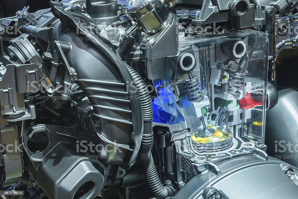 Car Engine Local Structure Stock Photo & More Pictures of ...