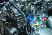 istock Car Engine local structure 487276513