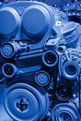 istock Car Engine local structure 488033543