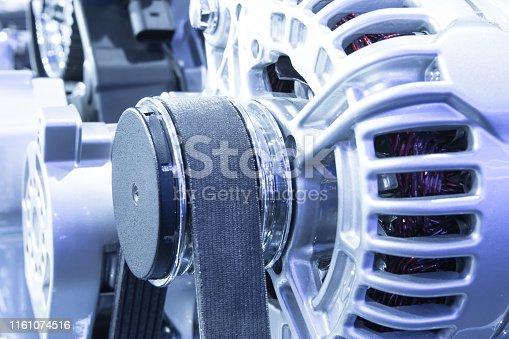 841283930 istock photo Car engine part 1161074516