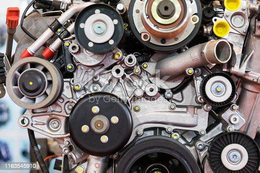 841283930 istock photo Car Engine 1163545910