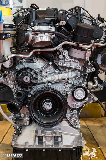 841283930 istock photo Car Engine 1163726422