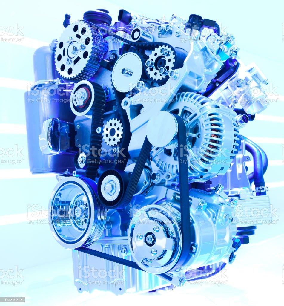 Car Engine royalty-free stock photo