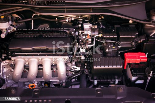 istock car engine 178395576