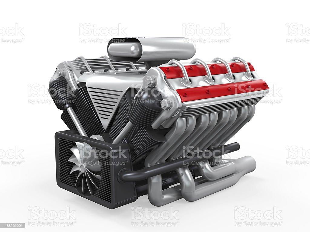 V8 Automotor Stock-Fotografie und mehr Bilder von Acht Zylinder | iStock
