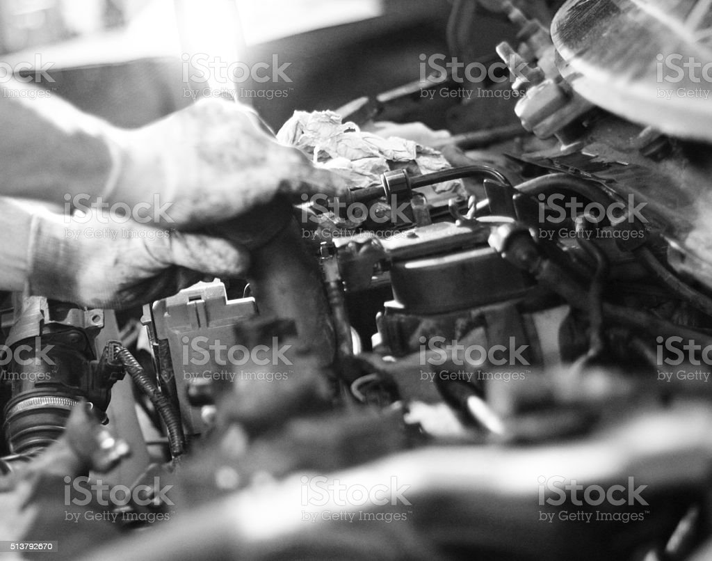 Car Engine Stock Photo Download Image Now Istock